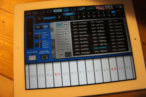 Synth Arp & Drum Pad yamaha iPADアプリ